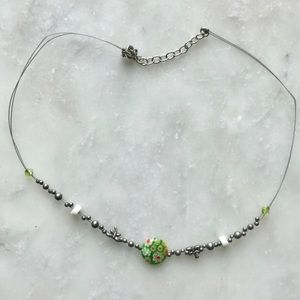 Delicate Green Hue Necklace